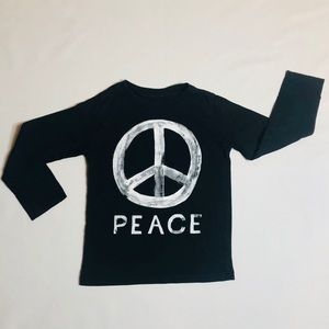 Children's Place boys long sleeve graphic shirt 5t